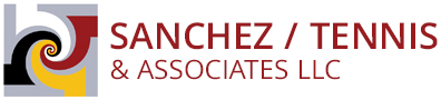 Sanchez, Tennis & Associates, LLC Sticky Logo